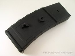 Lonex M4 Tactical Flash Mag 360 Round High Cap - Black