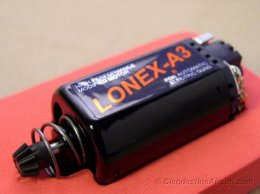 Lonex TITAN A3 Short Blue High Speed Motor